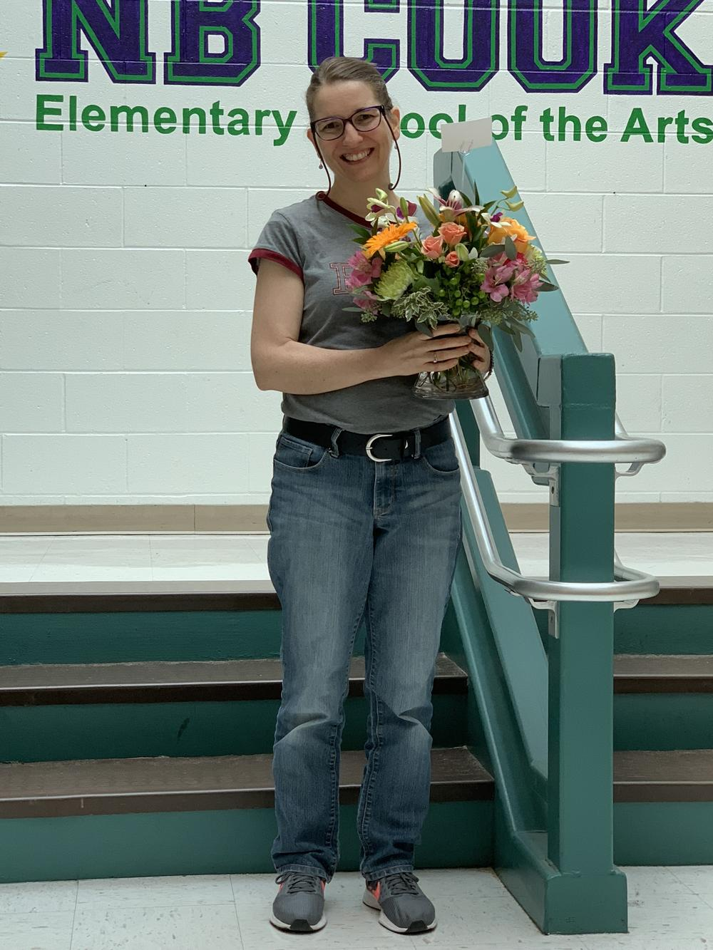 Nora Bleam Teacher of the Year